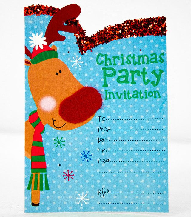15 best images about Christmas Invitations – Free Christmas Invitations Printable Template