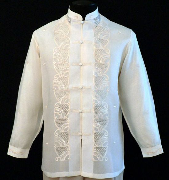 17 best images about barong for guys on pinterest for Wedding dress shirts for men