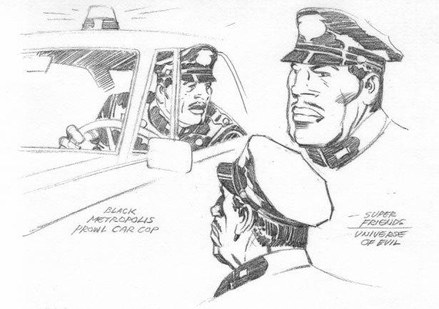 Jack Kirby // Policeman
