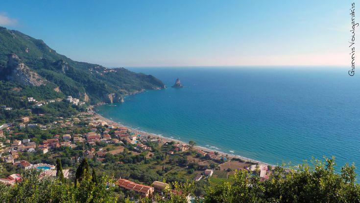 Beautiful view of Agios Gordios - Corfu