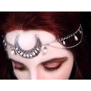 Eyescream Gothic Jewelry - Moon Headpieces & Circlets