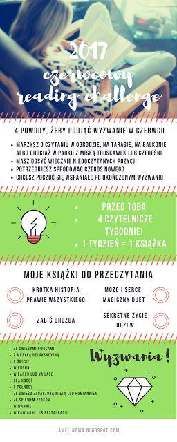 amelinowa: Książka na czerwiec. Podejmij wyzwanie czytelnicze!  pobierz swoje wyzwanie czytelnicze z bloga!  kliknij w obrazek, przeczytaj, skomentuj