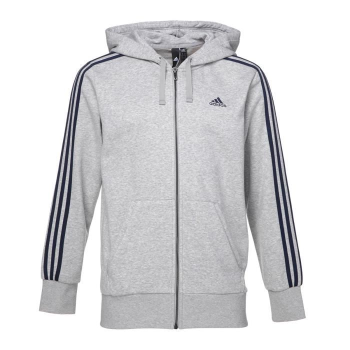 sweat adidas hommes gris
