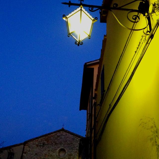 Pietralunga by night