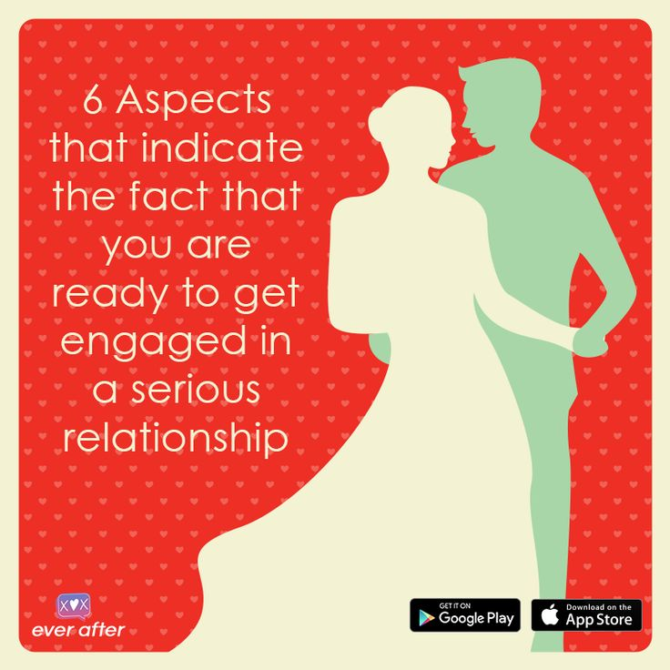 Just take a look at the following 6 clues that will confirm that you are ready to engage in a long-term relationship with a person, even if you met him or her with the help of an online dating app in India.