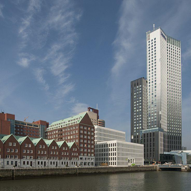 De Maastoren aan de Spoorweghaven | Rotterdam | The Netherlands http://nl.wikipedia.org/wiki/Maastoren