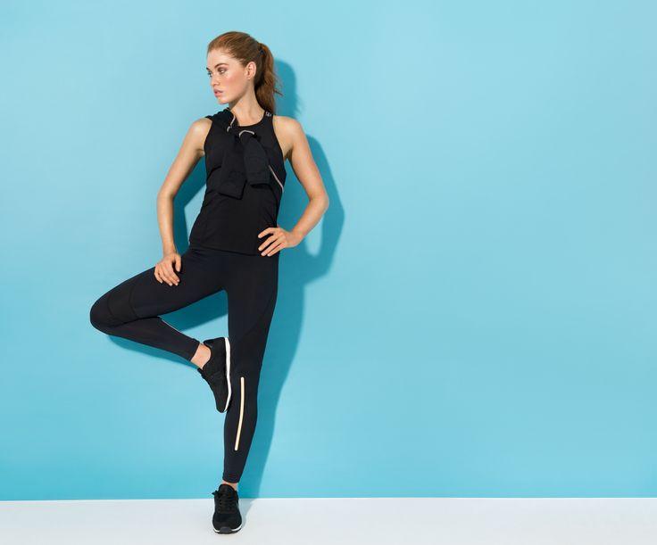 Women's exclusive activewear #black #activewear #performance