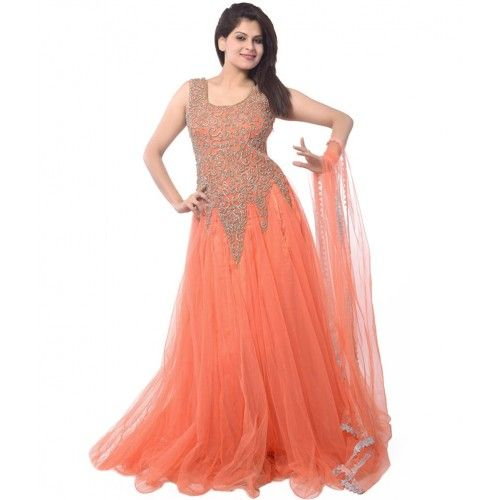 Designer Party Wear Gowns Casual Dresses