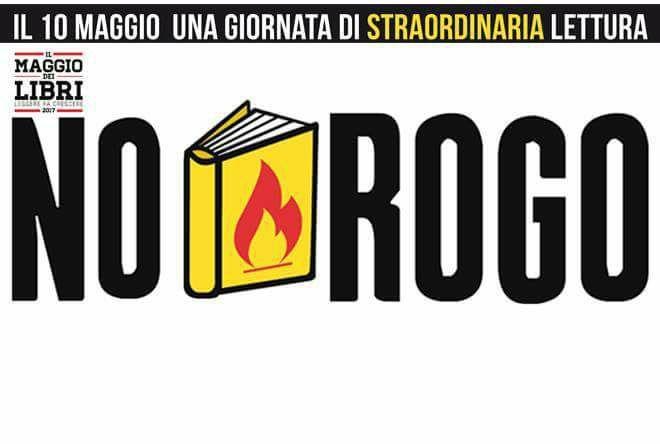 """#Lunigiana #eventi - Arriva anche ad #Aulla l'iniziativa #NoRogo in difesa dei libri e della cultura: dalle 17 in piazza del Comune per una lettura condivisa  Arci Agogo Aulla Liceo Classico Statale """"Leopardi"""", Aulla - Ms"""