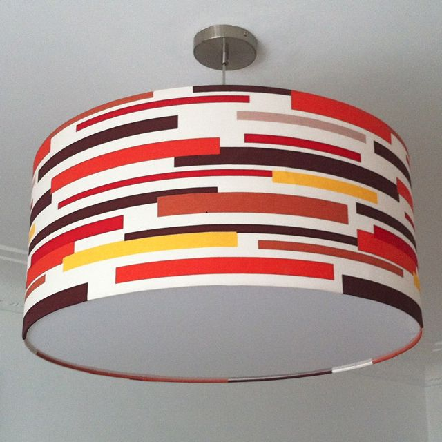 Look at what amazing Lampshades you can create with my home soft furnishings fabrics.  Blast from the past. Don't forget my fabrics come in limited supply & most have been printed a long time ago. Hurry whilst stocks last!!!! WWW.retrohomefabrics.com.au