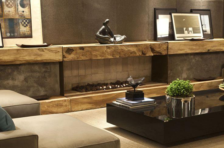 144 melhores imagens de lareiras no pinterest lareiras for Living room ideas trackid sp 006