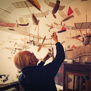 Ships That Sail Through the Clouds: Meet Luigi Prina, the 83-Year-Old Builder of Flying Model Ships