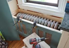 How to Build a Radiator Cover or Bench w/ pics | Cast Iron Radiator