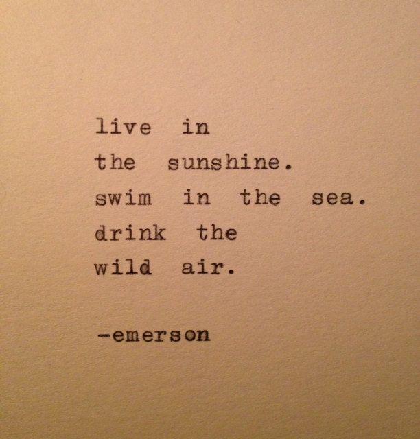 Emerson Quote Hand Typed on Typewriter di WhiteCellarDoor su Etsy, $9,00