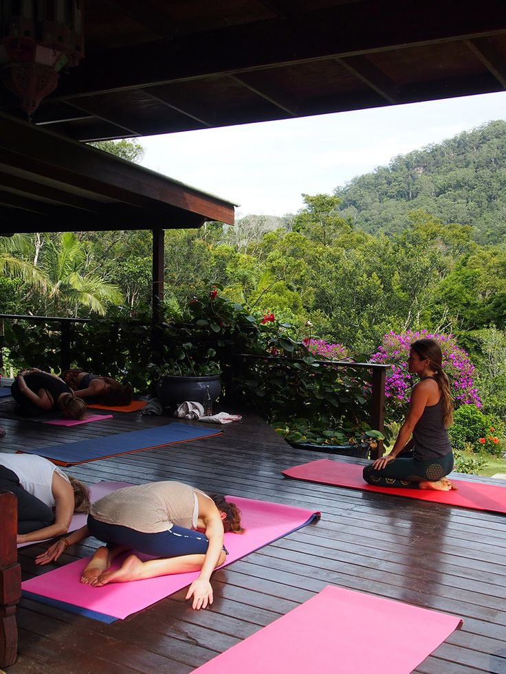 Surrender to Yoga at the OM Cleanse retreat Byron Bay Australia