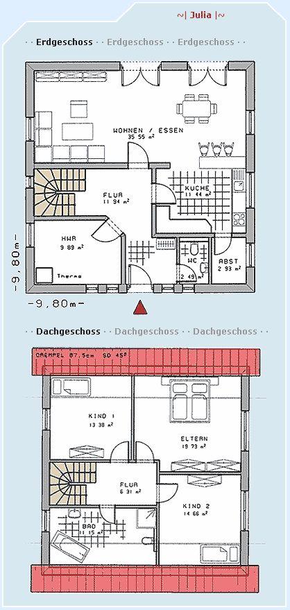 Traumdusche Bauen : Grundriss – nicht aber hwr/treppe. Da m?sste noch ein B?ro hin und