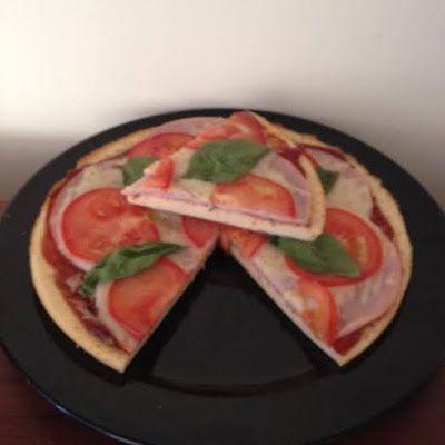 Vacsora pizza (paleo) ~ Éhezésmentes Karcsúság Szafival
