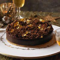 Heston's popping candy chocolate tart