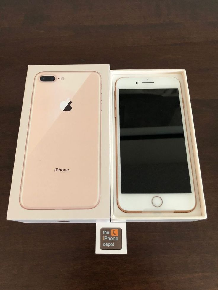 New Apple Iphone 8 Plus 256gb Gold Factory Unlocked A1897 Gsm