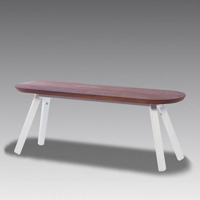 You and Me Bench . These sleek, stylish benches from the renowned Spanish design house RS Barcelona are the perfect accompaniment to their fabulous table tennis tables