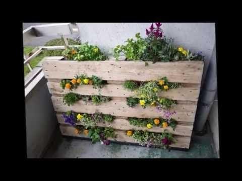 29 идей где  можно применить деревянные поддоны паллеты на даче - YouTube