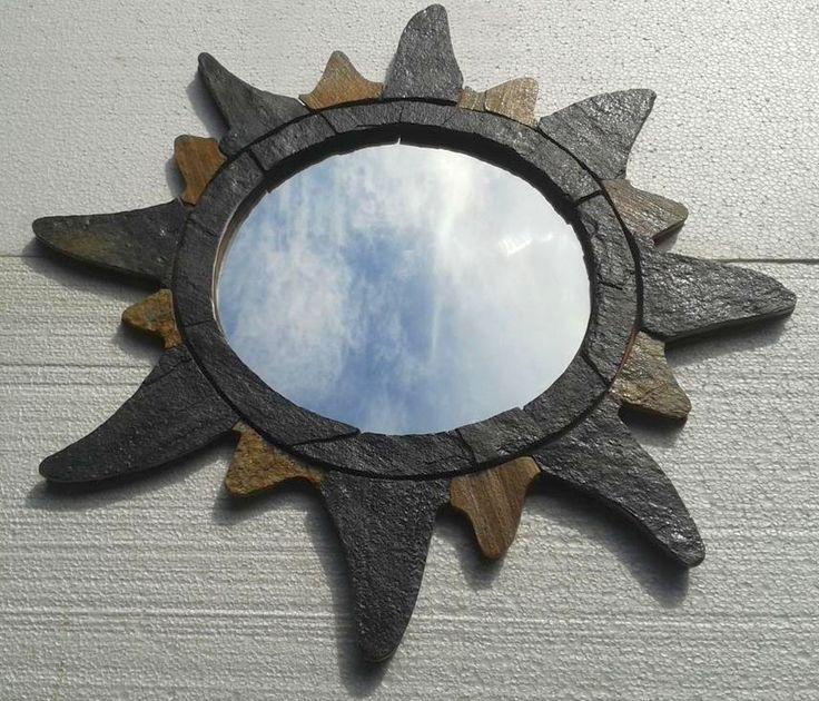 stone mirror