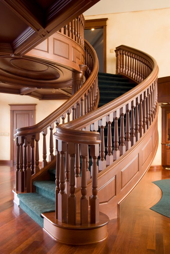 24 best images about wooden stairs on pinterest rustic stairs railing design and wine cellar for Wooden handrails for stairs interior