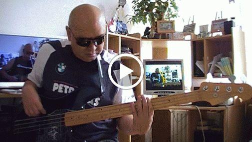 David's Dance el Salvador Live Gospel Salsa Bass cover Bob Roha