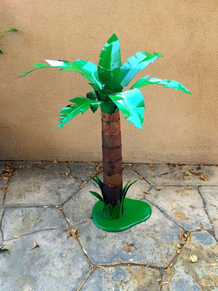 cabo palmmetal sculpturemetal artgardengarden decorrustic decor - Metallic Garden Decor