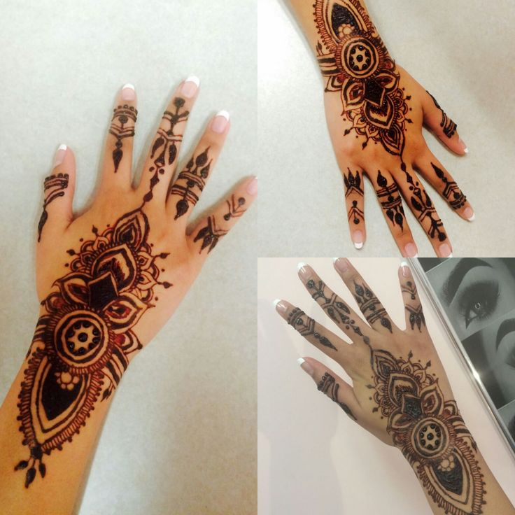 Henna Tattoo Eyebrow Course: Henna Tattoo Design Done By Eyebrows & More By Tahira