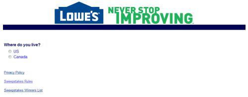 Lowe's Customer Satisfaction Survey, www.lowes.ca/survey ...