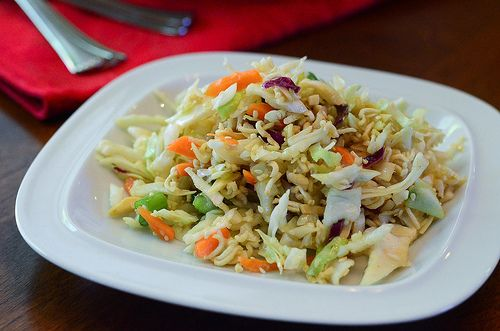 Ramen Cabbage Salad by From Valerie's Kitchen, via Flickr