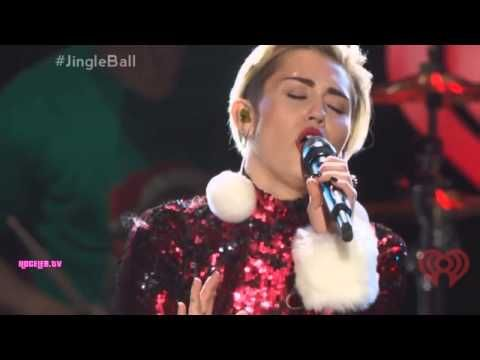 Miley Cyrus - Wrecking Ball - Jingle Ball Madison Square Garden (HD) - weheartnyknicks.c...