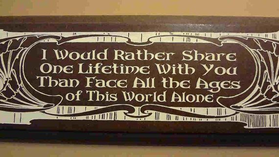 Arwen Lord of the Rings LOTR Tolkien Quote by HeatherwoodCrafts, $18.00