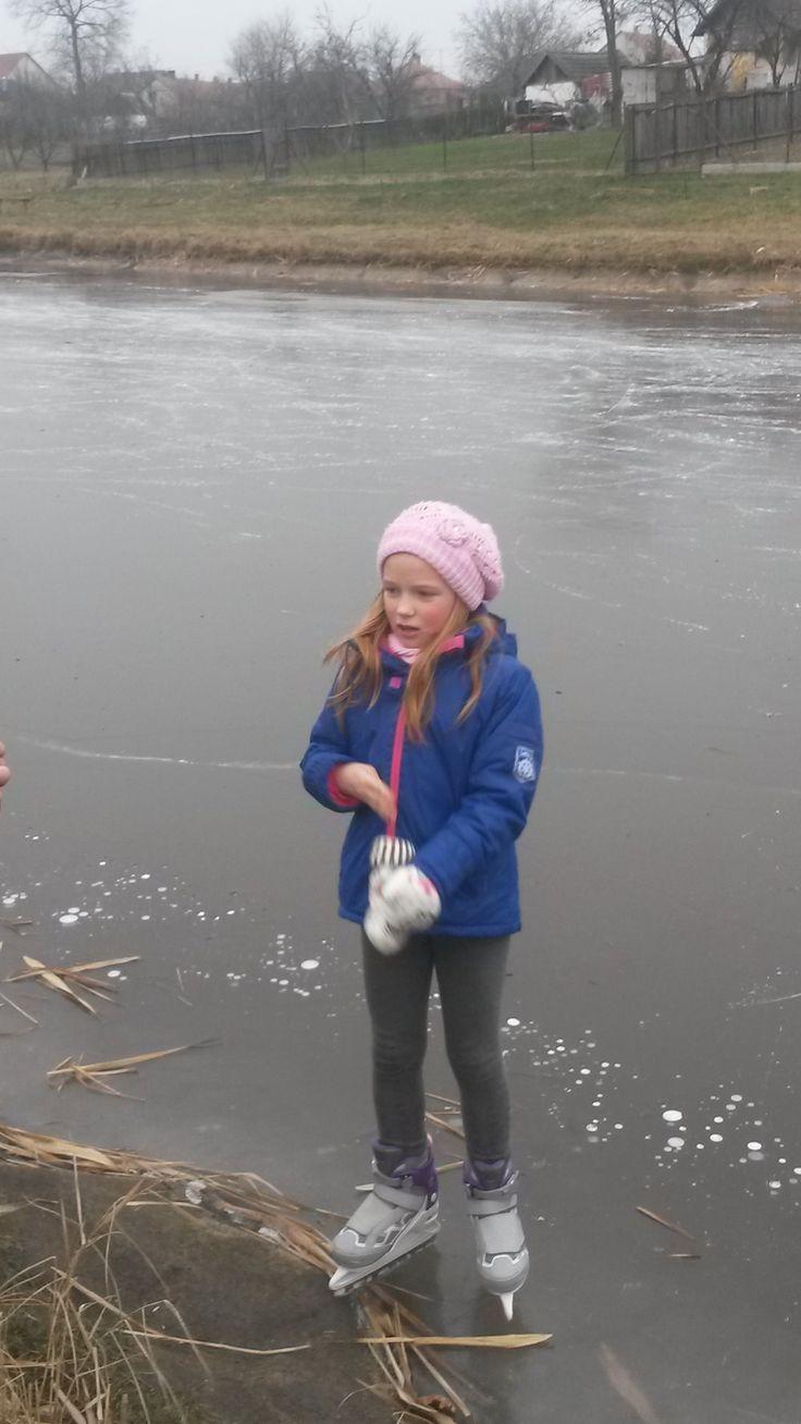 az első jég korizásom