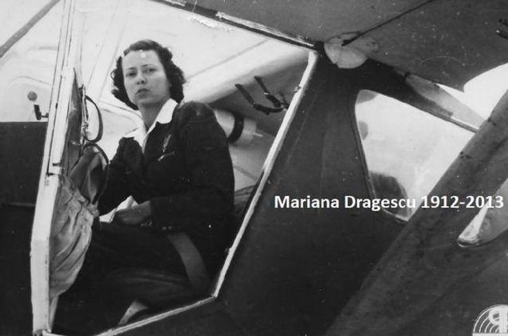Zburătoarea: Mariana Drăgescu, ultima legendă feminină a aviaţiei române din cel de-Al Doilea Război Mondial.