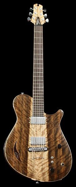 CROW HILL Reuben | Chambered Semi-Hollowbody Electric Guitar