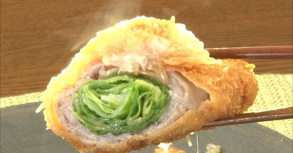 5月29日放映「この差って何ですか?」で紹介された、高原レタスの揚げ肉巻き!レタスなのにがっつりパンチが効いて食べ応えばっちりの一品です