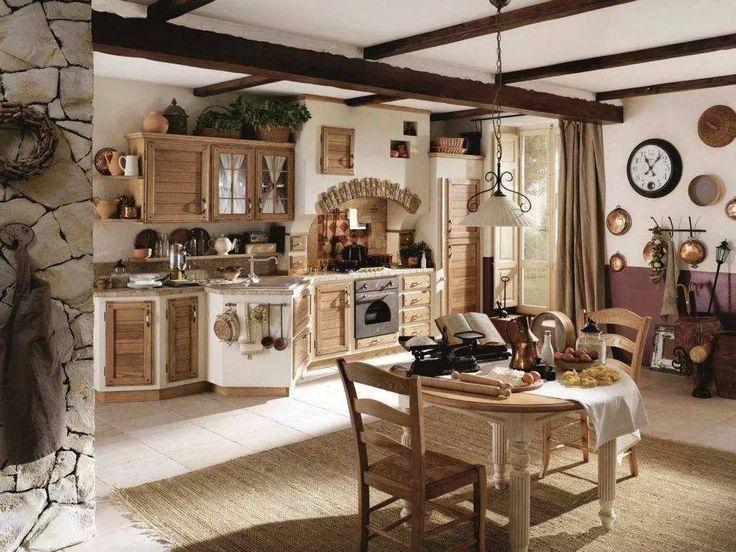 zděná kuchyn