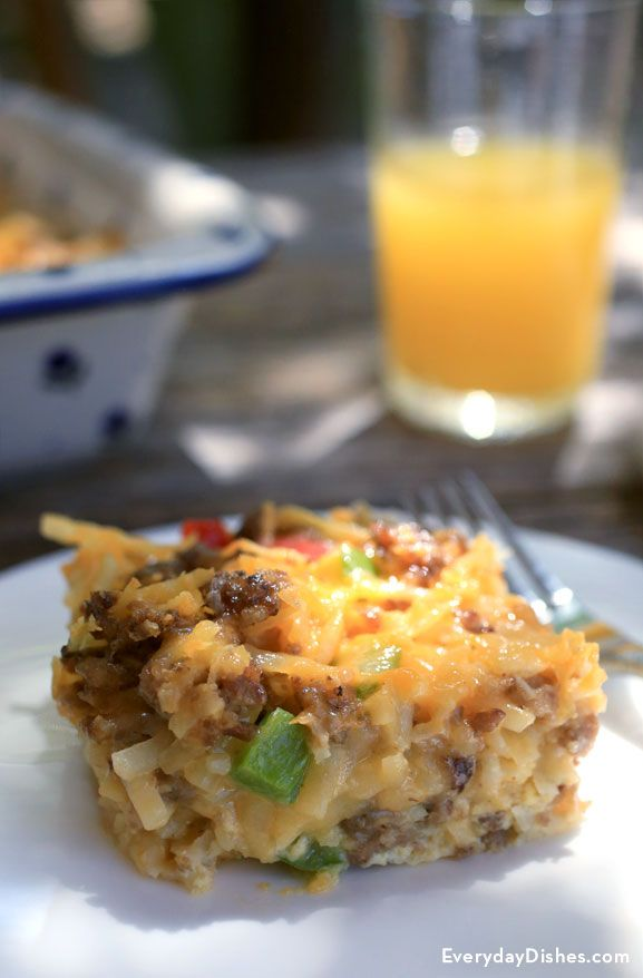 Enjoy all the flavors of sunrise in one great-tasting dish—our overnight breakfast casserole recipe doesn't just feed the crowd—it'll feed your soul, too! Breakfast sausage, onion, bell peppers, hash browns, egg and cheese…is your mouth watering yet?