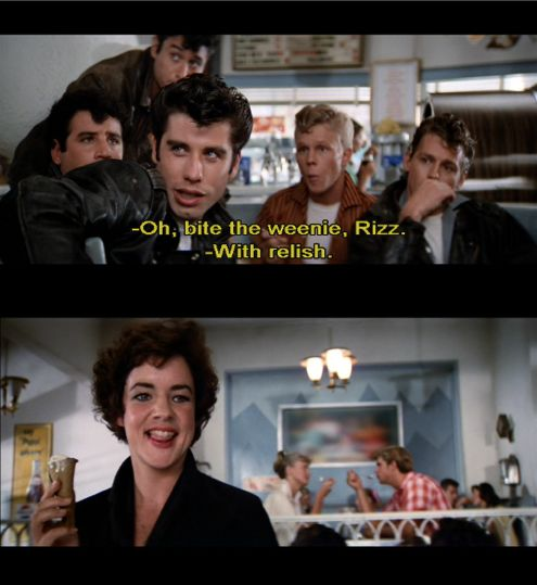 Grease movie quotes