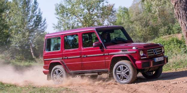 Yes, pricing for the Mercedes-Benz G550 starts at more than double the most expensive Wrangler, howe... - Mercedes-Benz