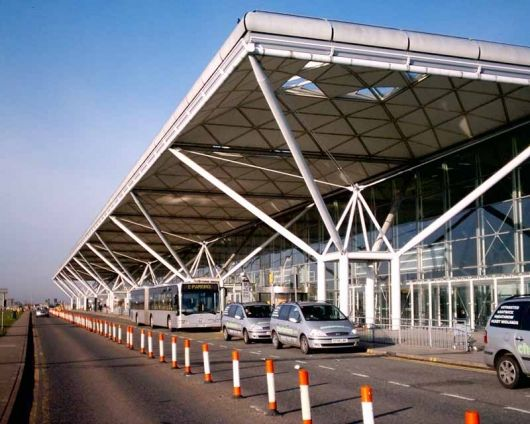 Architectural patron Jane Priestman wins inaugural Ada Louise Huxtable Prize | Stansted Airport Terminal, designed by Norman Foster after being commissioned by Jane Priestman | Bustler