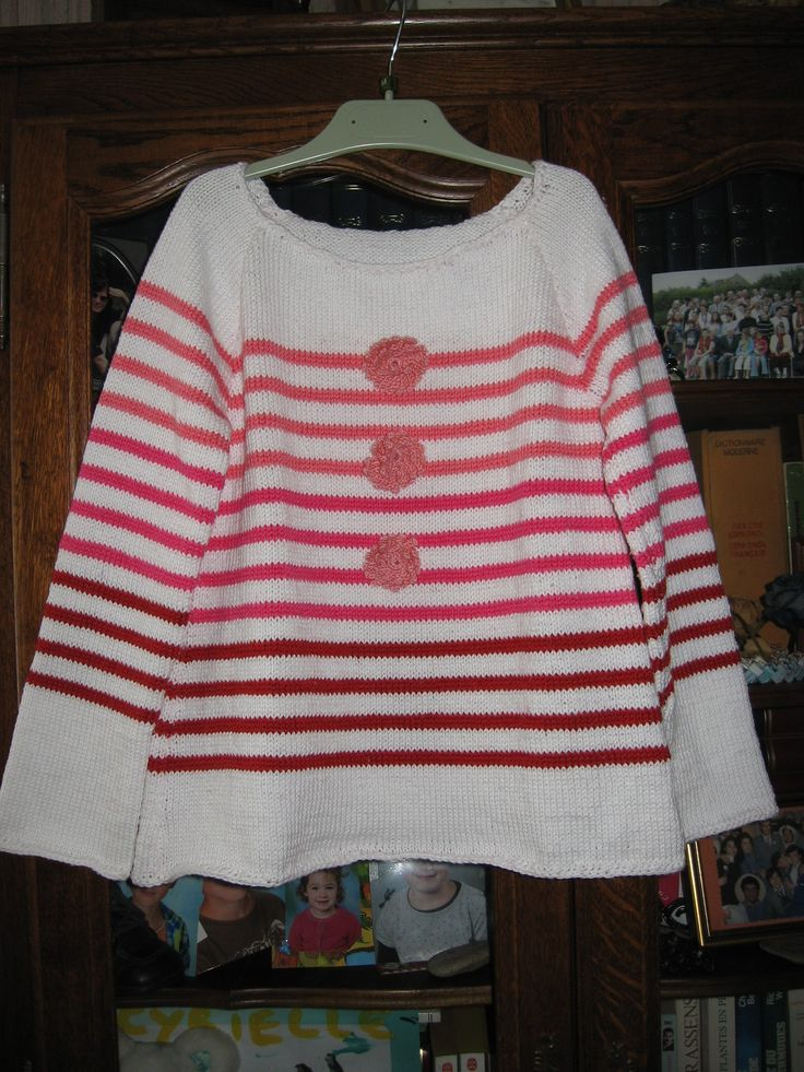 Pull over pour Cyrielle. 22/08/2016