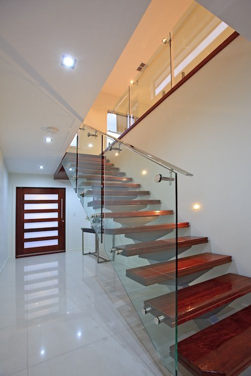 timber stairs - Google Search