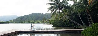 Let's Do This Event and Wedding Planning: Secret Island Kualoa Ranch Wedding + Roy's Hawaii Kai Reception Amelia + Adam