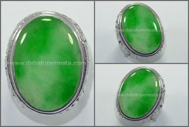 Beautiful Green Apple + Snow JADE/ GIOK Bersih  - JD 046