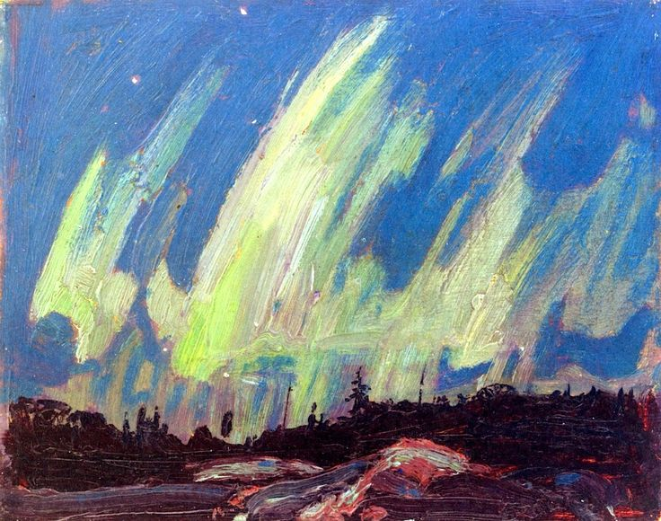 The Northern Lights, Tom Thomson, 1915.