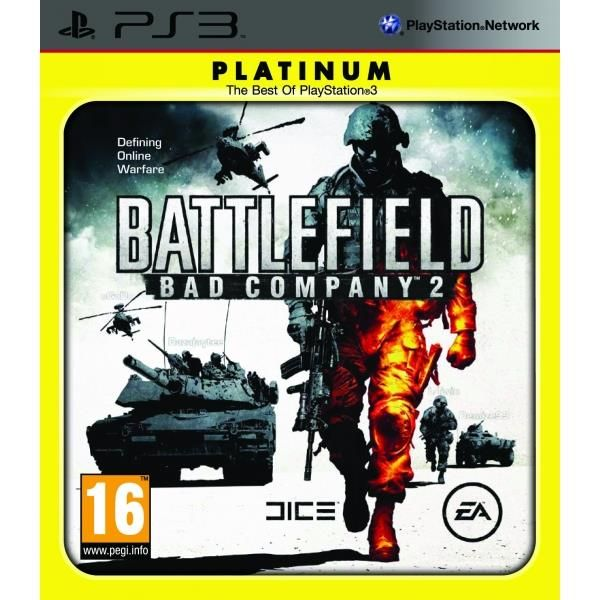 Battlefield Bad Company 2 Game (Platinum) PS3 | http://gamesactions.com shares #new #latest #videogames #games for #pc #psp #ps3 #wii #xbox #nintendo #3ds