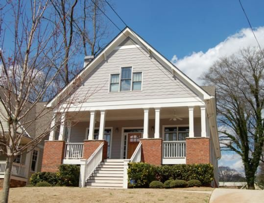 Top 25 ideas about atlanta craftsman homes on pinterest for Craftsman style home builders atlanta